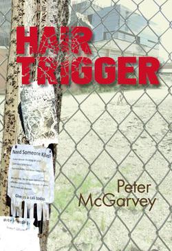 Hair Trigger Mystery Novel Book Cover
